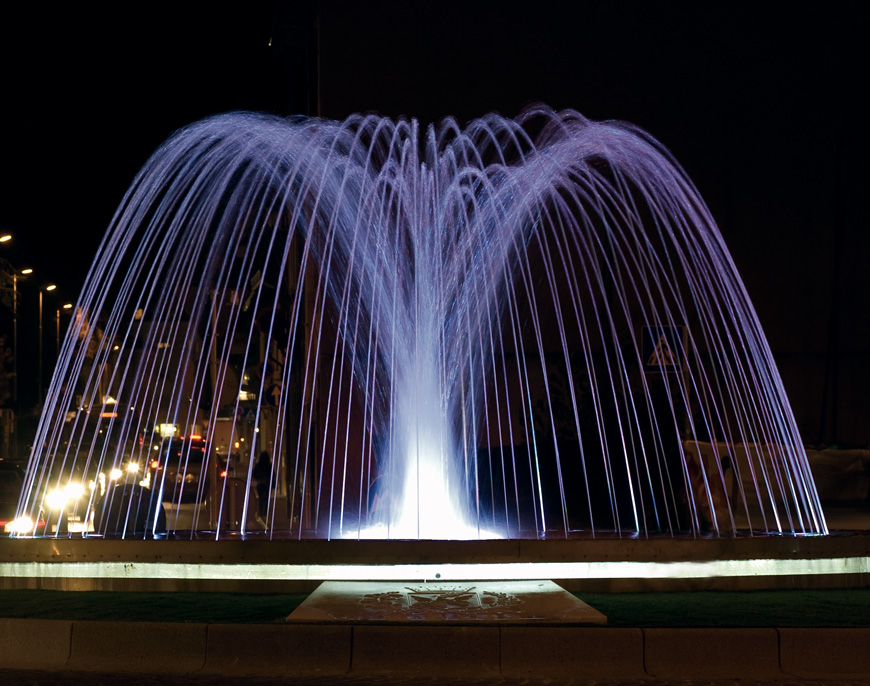 Led lights for fountains
