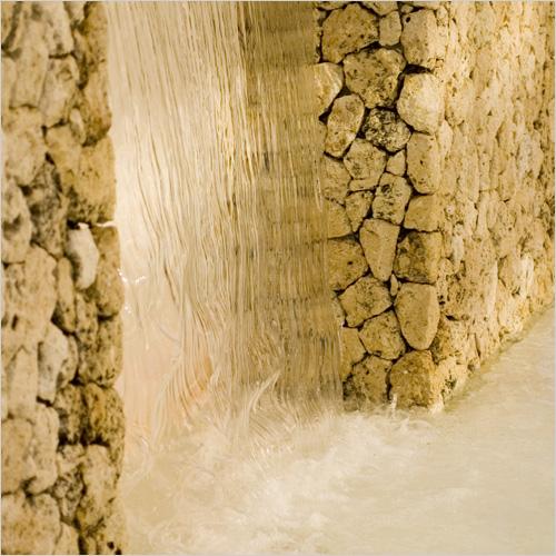 Componenti d acqua per installatori kit e ugelli per for Parete acqua